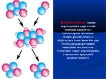 Ядерна реакція - явище перетворення ядер атомів хімічних елементів і елемента...