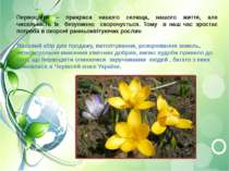 Первоцвіти – прикраса нашого селища, нашого життя, але чисельність їх безупин...
