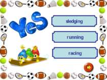 racing running sledging