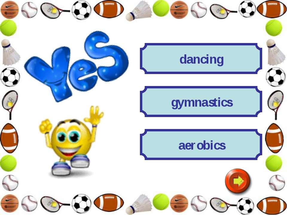 dancing gymnastics aerobics