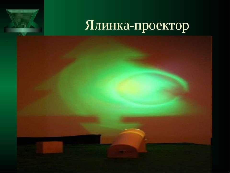 Ялинка-проектор