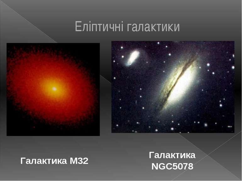 Галактика М32 Галактика NGC5078 Еліптичні галактики