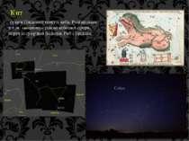 Кит сузір'я Південної півкулі неба. Розташоване у т.зв. «водному» районі небе...