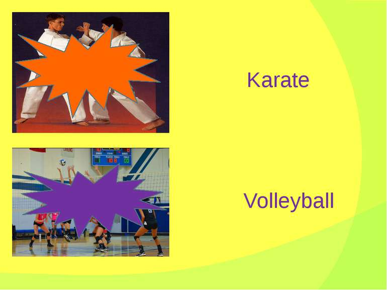 Karate Volleyball