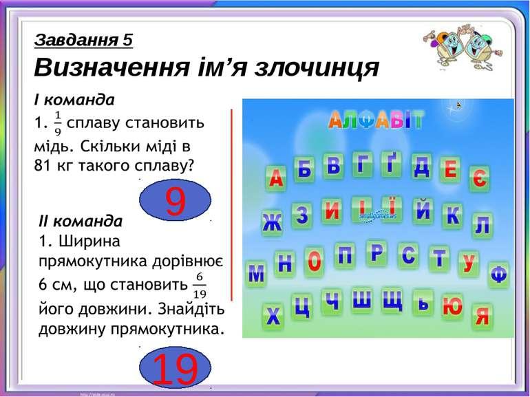 1 Завдання 5 Визначення ім'я злочинця 21 Абрам О.П.