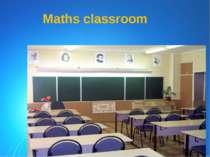 Maths classroom