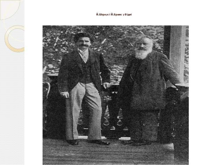 Й.Штраус і Й.Брамс у Відні