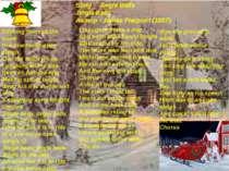 Song `` Jingle Bells`` Jingle Bells Автор - James Pierpont (1857) Dashing thr...