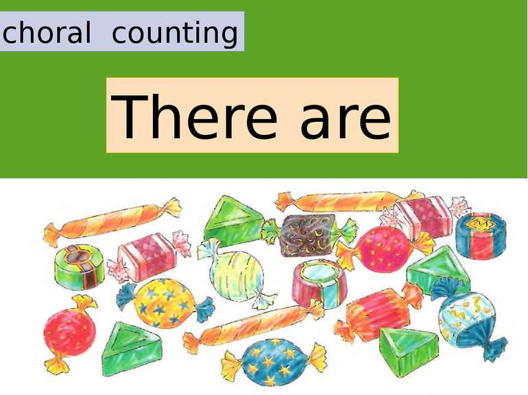 choral counting There are