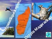 Острів Мадагаскар Мозамбіцька протока Гришельова Т.І.,учитель географії Запор...