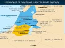 Ізраїльське та Іудейське царства після розпаду