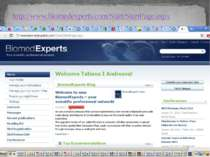 http://www.biomedexperts.com/Start/StartPage.aspx