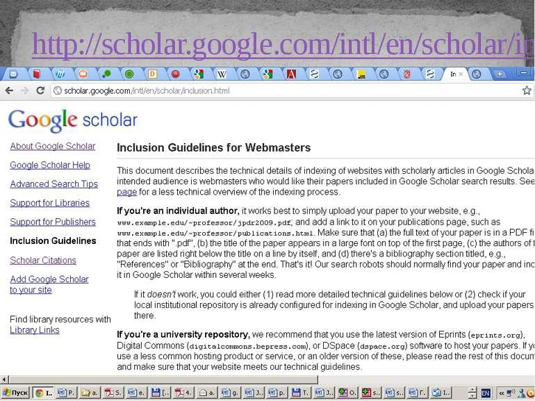 http://scholar.google.com/intl/en/scholar/inclusion.html