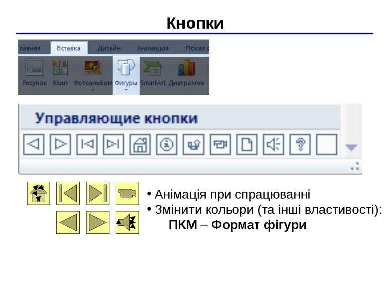 Тригери два вида анімації: при натисканні в будь-якому місці при натисканні н...