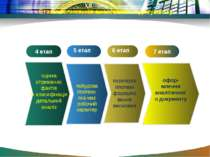 Етапи написання аналітичного документу 5 етап 6 етап офор млення аналітичного...