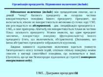 Організація прецедентів. Відношення включення (include) Відношення включення ...