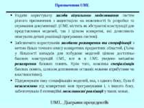 Призначення UML Надати користувачу засоби візуального моделювання систем різн...
