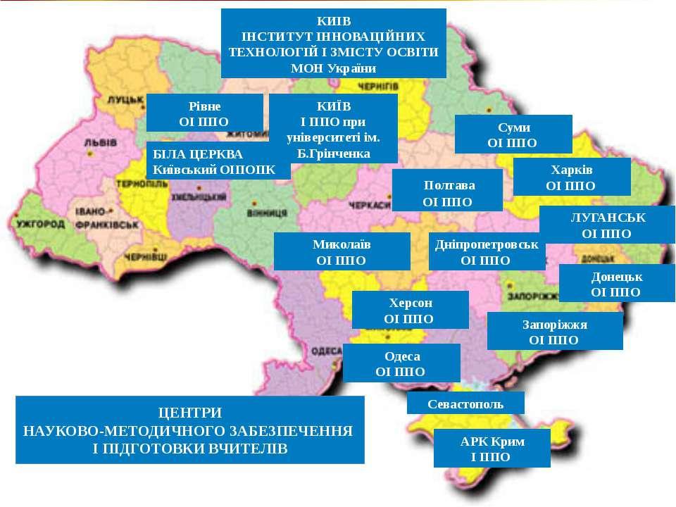 КИІВ ІНСТИТУТ ІННОВАЦІЙНИХ ТЕХНОЛОГІЙ І ЗМІСТУ ОСВІТИ МОН України ЦЕНТРИ НАУК...