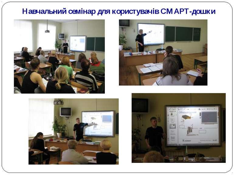 Навчальний семінар для користувачів СМАРТ-дошки