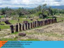 Колумбия.Remains of a Muisca temple, nowadays called El Infiernito, nearby V...
