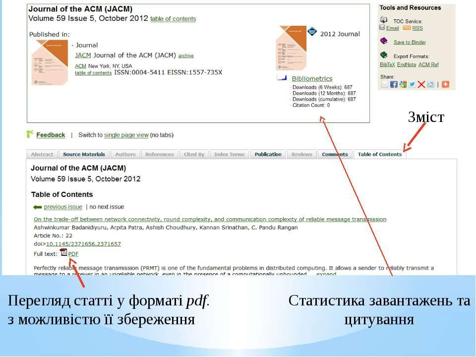 Статистика завантажень та цитування Зміст Перегляд статті у форматі pdf. з мо...
