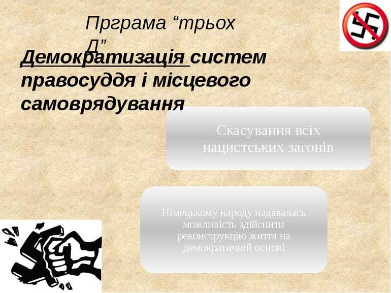 """Демократизація систем правосуддя і місцевого самоврядування Прграма """"трьох Д"""""""