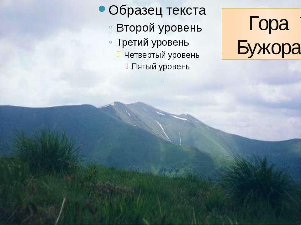 Гора Бужора