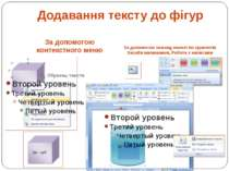 За допомогою контекстного меню За допомогою команд панелі інструментів Засоби...