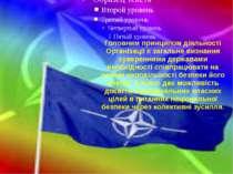 Головним принципом діяльності Організації є загальне визнання суверенними дер...
