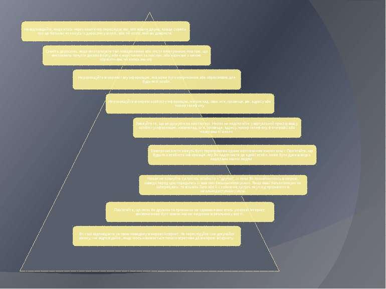 2. Загальні застережливі поради користування «всесвітньою мережею» учням