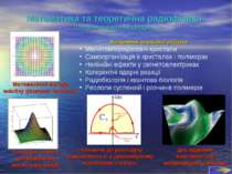 Математика та теоретична радіофізика (загальноосвітня кафедра) Напрямки науко...