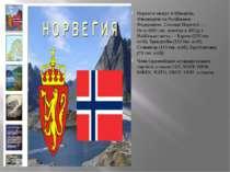 Норвегія межує зі Швецією, Фінляндією та Російською Федерацією. Столиця Норве...