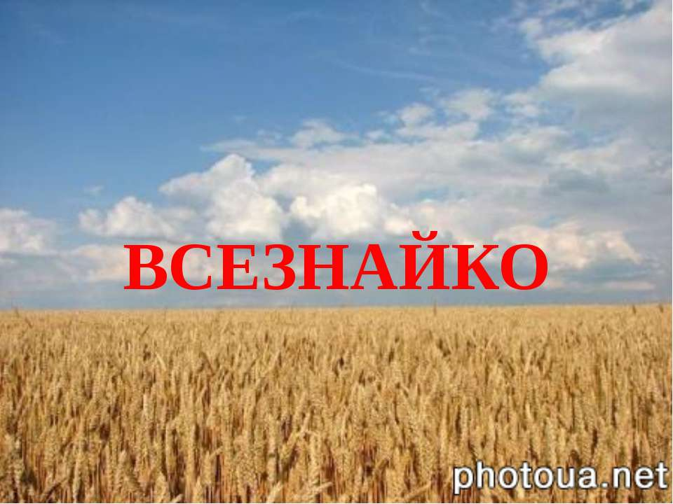 ВСЕЗНАЙКО