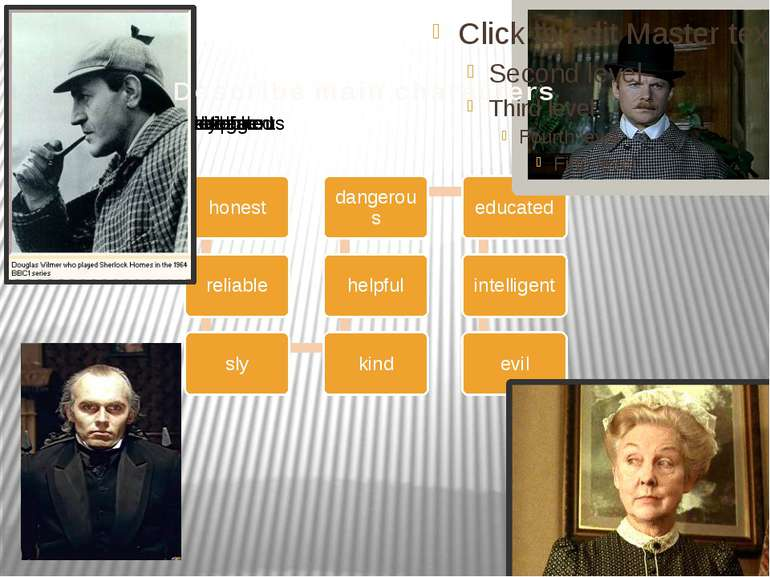 Describe main characters
