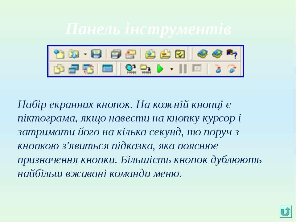 Вікно коду На початок роботи містить сформований шаблон програми.