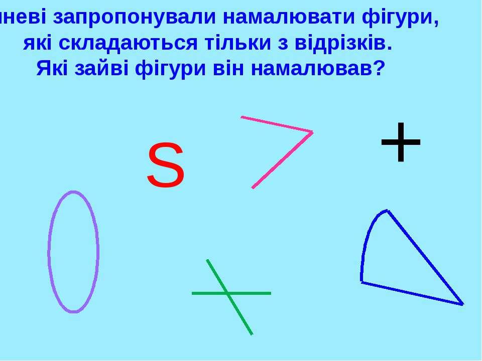 3 СМ 1 СМ 3 СМ 3 СМ 3 СМ 3 СМ 1 СМ Яка ламана довша? 3 см + 1 см + 3 см = 7 с...