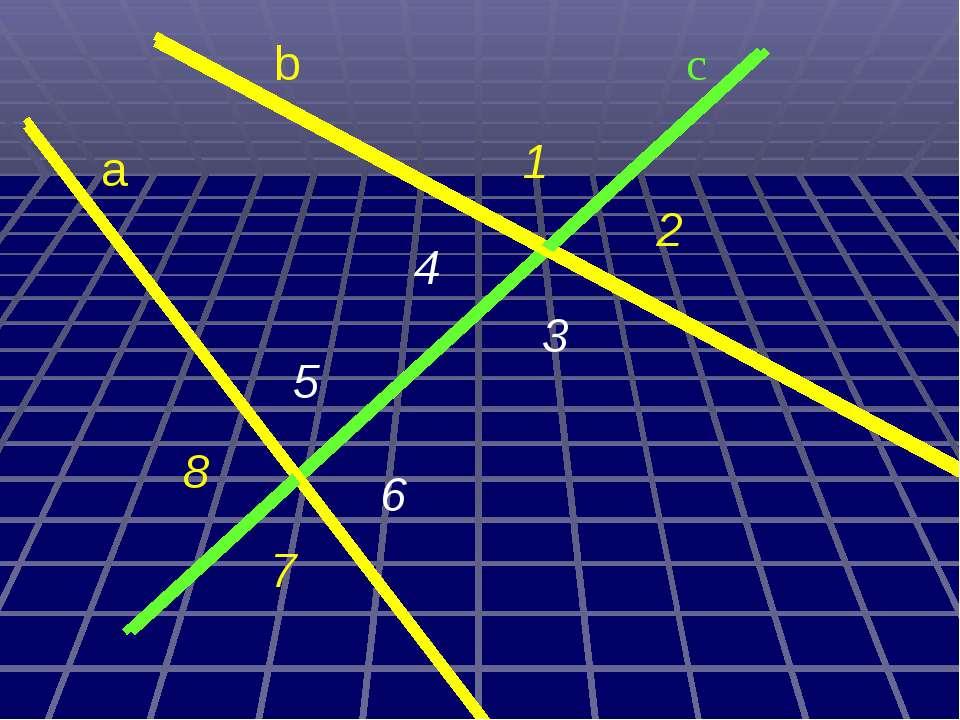 b 2 c a 6 5 4 3 1 8 7