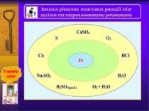Солі феруму +2 і +3 Із солейферуму(ІІ) найбільше значення мають соліFeS. FeCl...