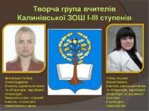 Учень Альона Валентинівна Вчитель української мови та літератури, зарубіжної ...
