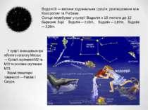 Водолі й — велике зодіакальне сузір'я, розташоване між Козорогом та Рибами. С...