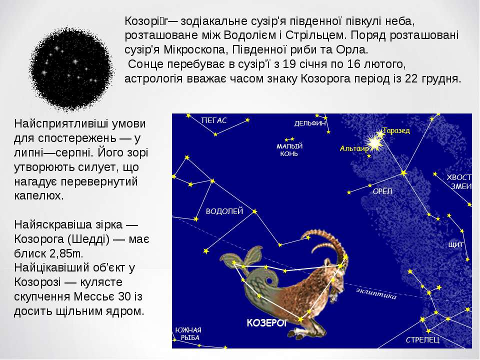 Козорі г— зодіакальне сузір'я південної півкулі неба, розташоване між Водоліє...