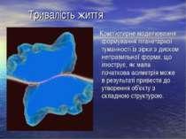 Тривалість життя Комп'ютерне моделювання формування планетарної туманності із...