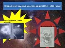 Другий етап наукових досліджень (1954-1957 роки) Лисиця (друга) і Рижик (друг...