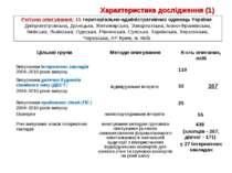 Регіони опитування: 15 територіально-адміністративних одиниць України: Дніпро...