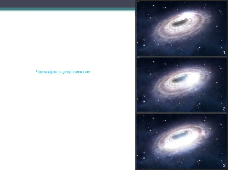 Чорна дірка в центрі галактики