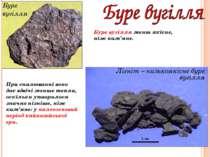 Буре вугілля Лігніт – низькоякісне буре вугілля Буре вугілля менш якісне, ніж...