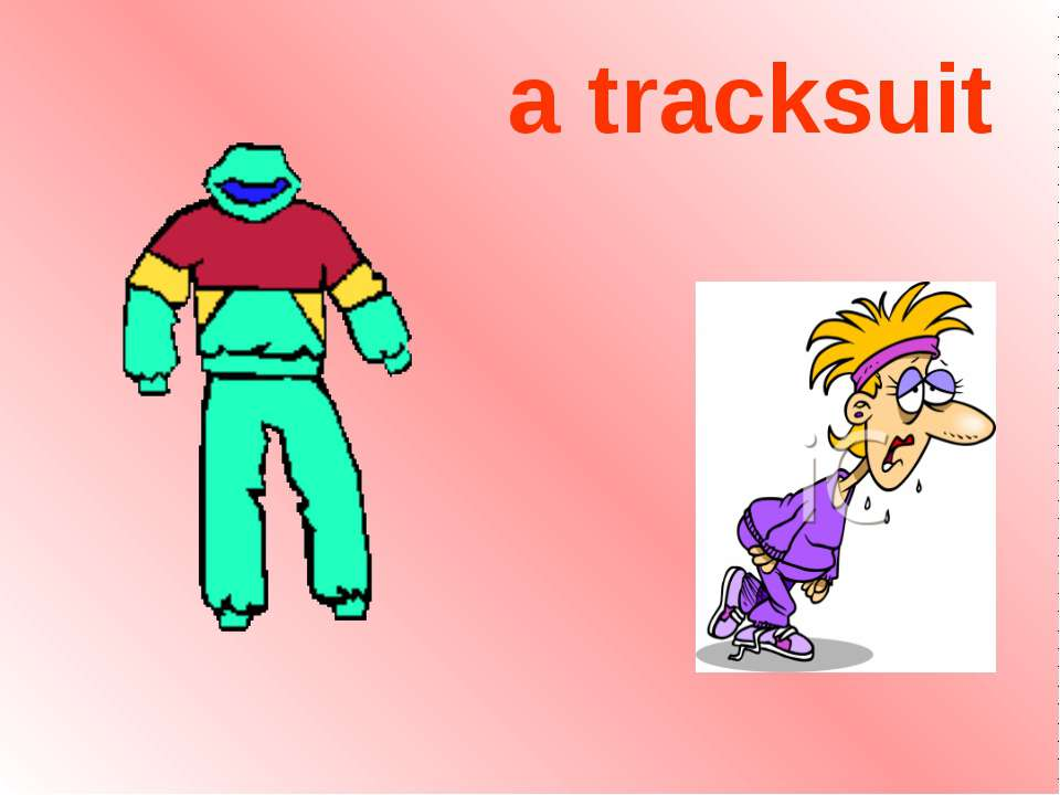 a tracksuit