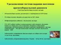 Удосконалення системи надання населенню протитуберкульозної допомоги Структур...