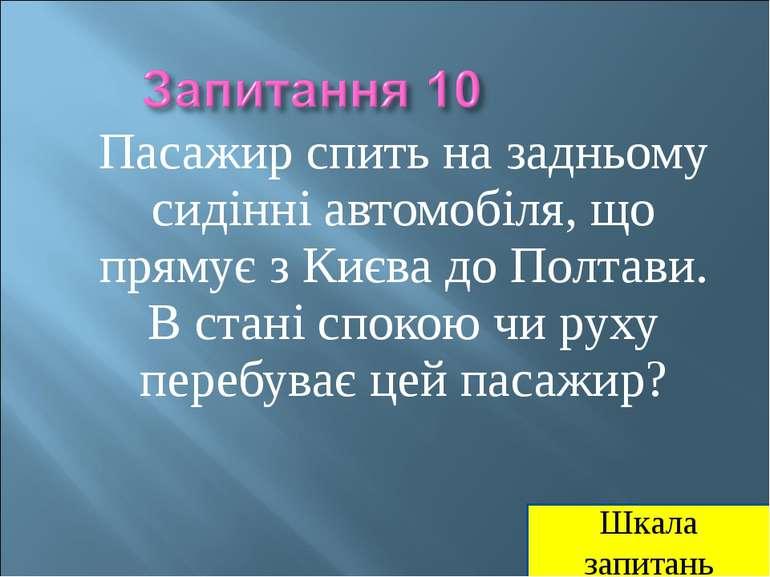 Пасажир спить на задньому сидінні автомобіля, що прямує з Києва до Полтави. В...
