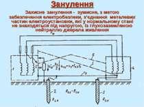 Занулення Захисне занулення - зумисне, з метою забезпечення електробезпеки, з...